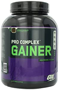Optimum Nutrition Pro Complex Gainer, Double Chocolate, 5.08 Pounds