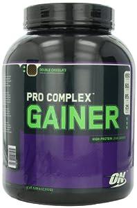 Optimum Nutrition Pro Complex Gainer, Double Chocolate, 5.08 Pounds