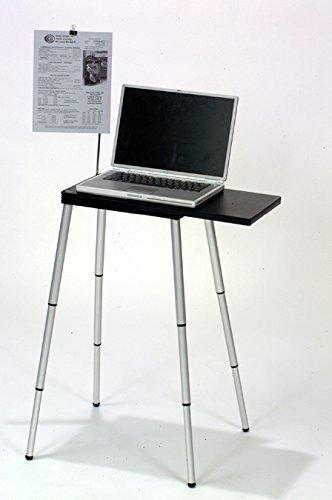 Tabletote Portable Compact Lightweight Adjustable Height Laptop Notebook Computer Stand (Telescoping Table Legs compare prices)