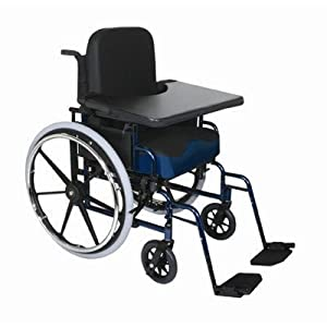 Durasoft Wheelchair Lap Tray Mount Type: Webbing, Cup Holder: Yes