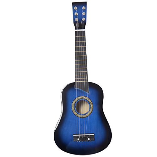 Goplus-25-Blue-Beginners-Kids-Acoustic-Guitar-6-String-with-Pick-Children-Kids-Gift