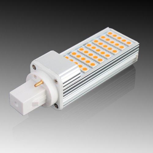Yaho-Mall G24 5050 Smd 35Led Energy Saving High Power Lamp Bulb Ac 85V-265V/Warm White 7W