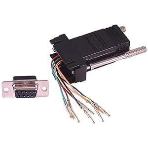 RJ45 to Serial RS232 9 Pin Female Adaptor