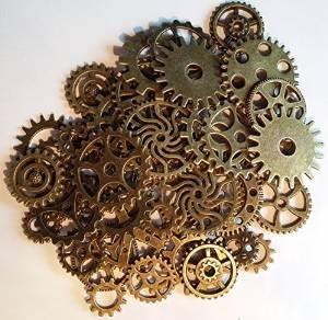 lot-de-50-charms-style-gothique-motif-engrenages-steampunk-en-couleur-bronze
