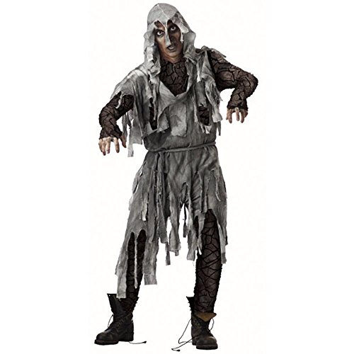 Adult Zombie Halloween Costume (Large 42-44)