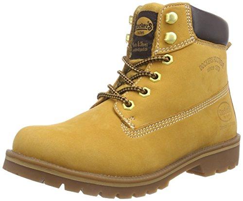 dockers-by-gerli-35aa303-300910-damen-combat-boots-gelb-golden-tan-910-41-eu