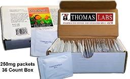 Thomas Labs Fish Bendazole 250mg Fenbendazole Powder (36 packets)
