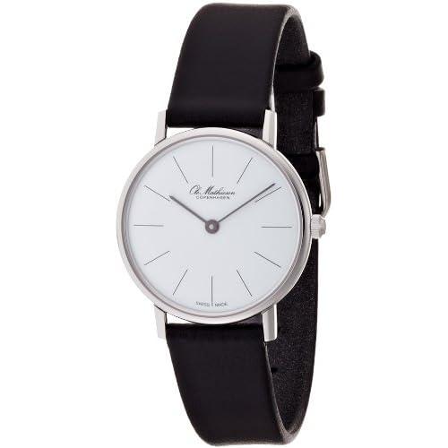 [オーレ・マティーセン]OLE MATHIESEN 腕時計 LINE.WHITE DIAL OM2.28 OM2.28 レディース 【正規輸入品】