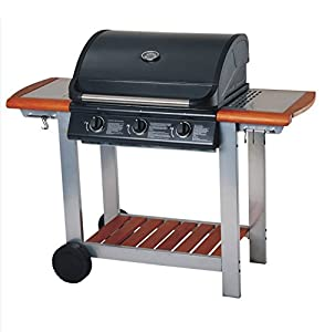 how to turn a gas bbq on