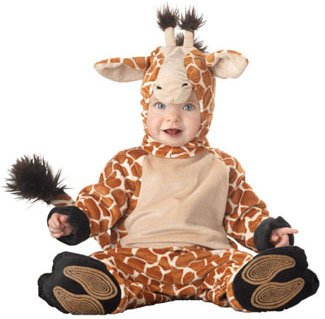 Baby Infant Giraffe Halloween Costume (Sz:12-18M)