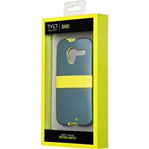 Tylt TYLT BAND Case for Moto X - GREEN/GREY - Carrying Case - Retail Packaging - GREEN / GREY