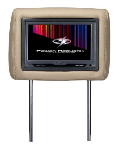 Power Acoustik H-9BG (Beige) Single Pre-Loaded Universal Replacement Headrest w/ 9