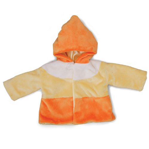 "Gund Halloween Candy Corn 21"" Baby Coat"