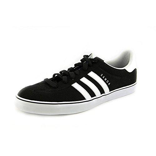 Adidas Samoa Vulc Cblack / ftwwht / blubir casual Calzature 11.5 Us