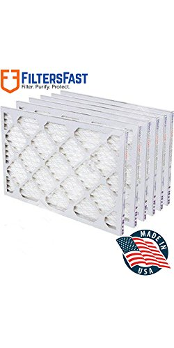 "16x32x1 1"" Pleated Air Filter Merv 11 - 6 pack by Filters Fast"