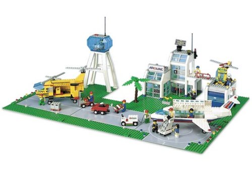 Lego City Set #10159 Airport (japan import)