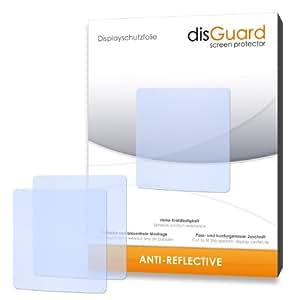 3 x disGuard Anti-Reflective Film protecteur d'écran pour TomTom Nike+ Sportwatch GPS - Qualité supérieure (revêtement dur adhésif, antiréflexion, montage sans bulles)