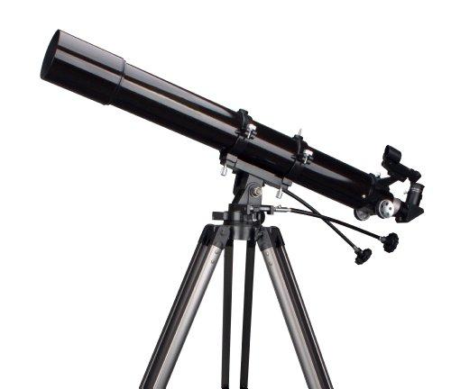 Rokinon 909AZ3 900 x 90mm Refractor Telescope with Tripod (Black)