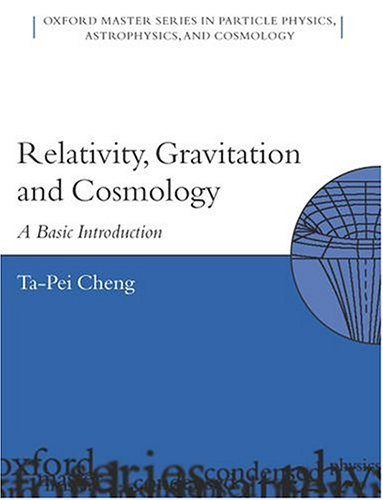 Relativity, Gravitation and Cosmology: A Basic Introduction (Oxford Master Series in Physics) Image
