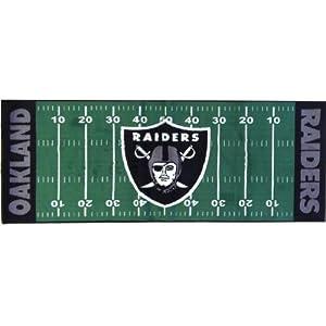 FANMATS 7361 NFL - Oakland Raiders Floor Runner by Fanmats