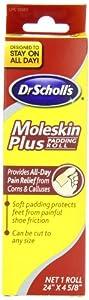 Dr. Scholl's Moleskin Plus 24