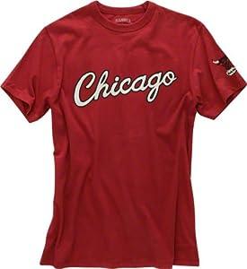 NBA Chicago Bulls Mens Fieldhouse Basic Tee by