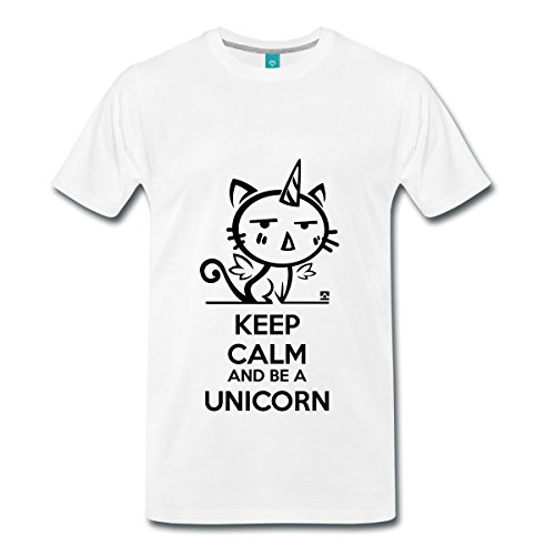 Chat-Licorne-Keep-Calm-T-shirt-Premium-Homme-de-Spreadshirt