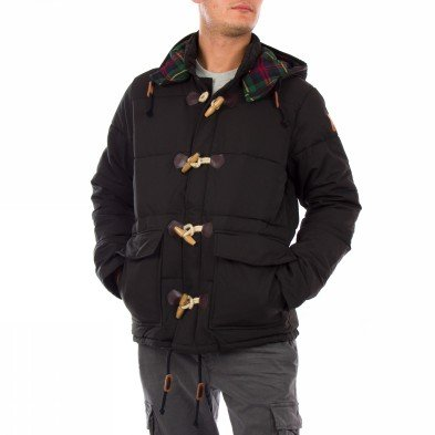 Franklin & Marshall Coat Mens Jacket Black