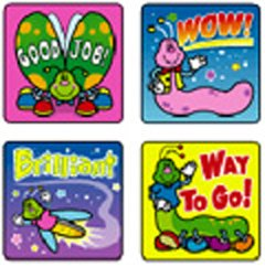 STICKERS BUGS - Buy STICKERS BUGS - Purchase STICKERS BUGS (Carson Dellosa, Toys & Games,Categories,Arts & Crafts,Stamps & Stickers)