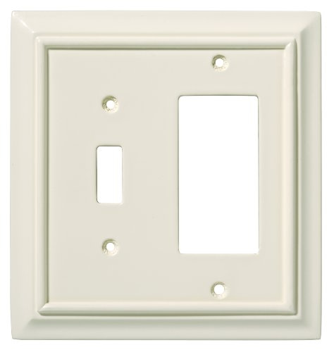 switch decorator wall plate switch plate cover light almond. Black Bedroom Furniture Sets. Home Design Ideas