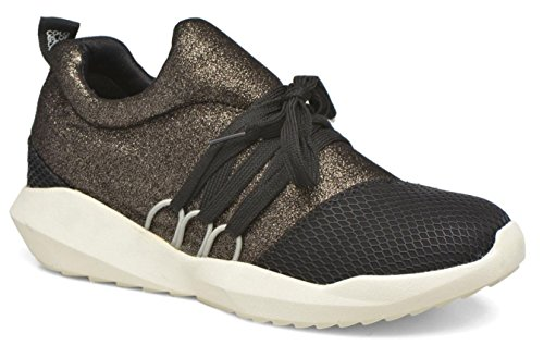 COLORS OF CALIFORNIA HC ELAFAS 05 BLACK SNEAKER SLIP ON NEOPRENE BRONZO
