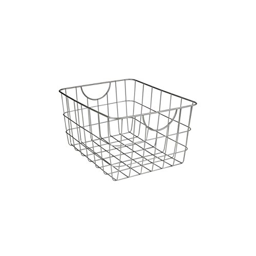 Spectrum Diversified 08477 Utility Basket, Satin Nickel (Wire Basket compare prices)