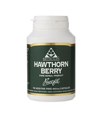 Bio Health Hawthorn Berry - 120 x 450mg Vegicaps from Bio Health