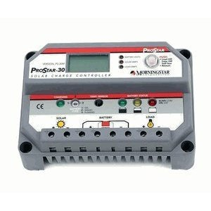 Morningstar ProStar 30amp Charge Controller with Meter