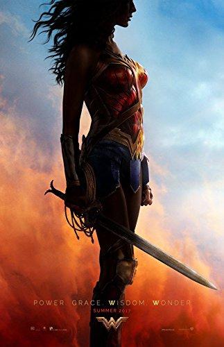 "Wonder Woman (2017) Advance - Movie Poster - Size 24""x36"""