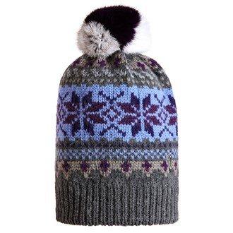 golfino-ladies-jacquard-hat-with-pom-pom-ladies-flannel-ladies-flannel