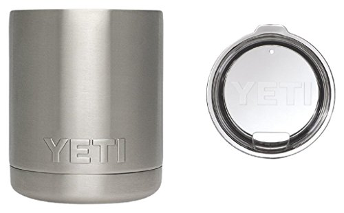 Yeti Coolers Stainless Steel Rambler Lowball,10 oz