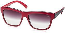 UCB Gradient Wayfarer Unisex Sunglasses (BES888I14SG 56 Grey Gradient lens)