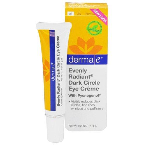 derma e Evenly Radiant Dark Circle Eye Crème Moisturizing Eye Treatment, 0.5 oz (Derma E Dark Circle Eye Cream compare prices)