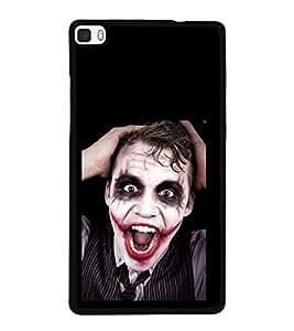 printtech Joker Back Case Cover for Huawei P8
