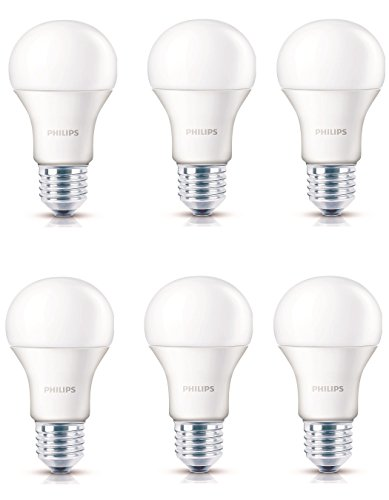 Philips 13 W E27 LED Bulbs (Cool Daylight, Set Of 6)