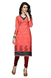 Riddhi Dresses Women's Cotton Unstitched kurti (Riddhi Dresses 50_Multi Coloured_Free Size)