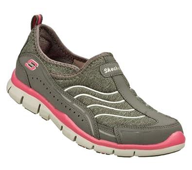 Amazon.com: Skechers Gratis Staycation Womens Slip On Sneakers Gray