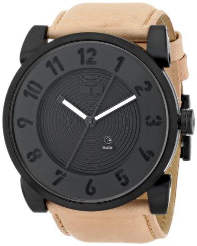 Vestal Men'S Dop011 Doppler Analog Display Japanese Quartz Beige Watch