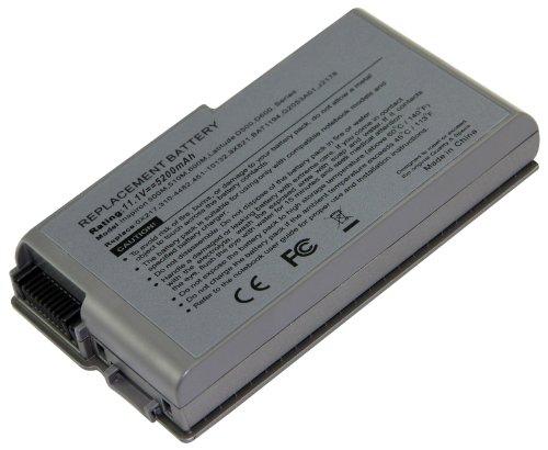 Lithium-Ionen 6 Zellen 4400mAh f??r Dell Latitude D500 D505 D510 D520 D530 D600 D610 D600 D610 Laptop; Dell Inspiron 500M 510M 600M mit 3R305 kompatibel 312-0068 451-10132 1X793 6Y270 C1295 C2603 M9014 4M010 G2053 312-0191