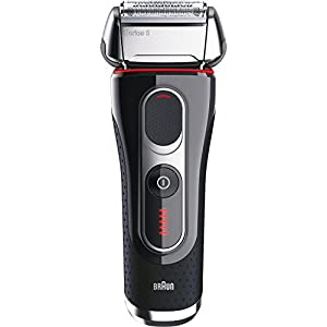 Braun Series 5 5090cc Electric Foil Shaver for Men with Clean & Charge Station, Electric Men's Shaver, Razors, Shavers, Cordless Shaving System