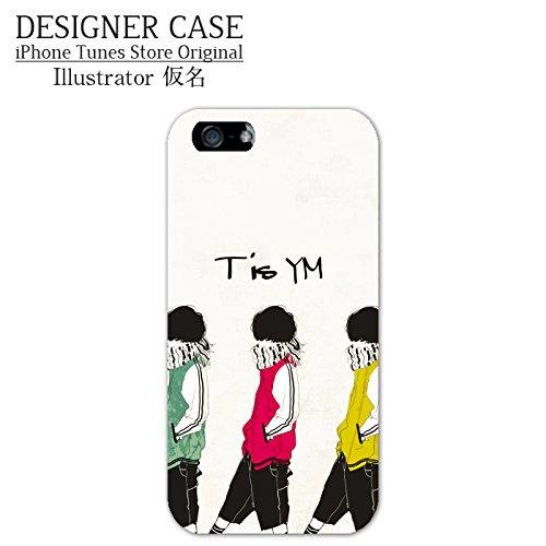 iPhone6S/6ハードケース◇「TisYM」人気イラストレーター・仮名アイフォンケースカバー4.7インチ