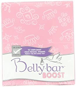 Bellybar Boost, S'more To Love, Marshmallow, Graham and Chocolate, 8-Count