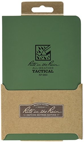 Rite in the Rain All - Weather Tactical Field Book Green (Right In The Rain Notebook compare prices)