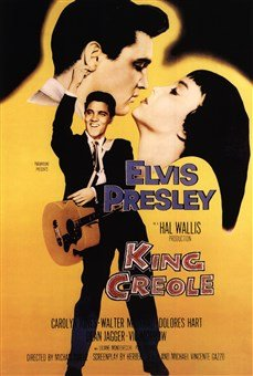 King Creole With Elvis Presley High Quality Museum Wrap Canvas Print Unknown 24X36